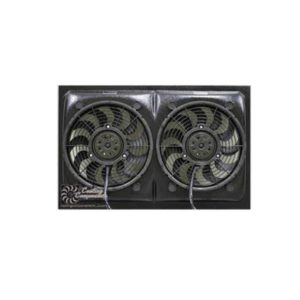 Cooling Components 12 inch Dual Radiator Fans - CCI-1226