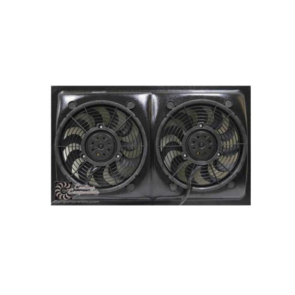 Cooling Components 12 inch Dual Radiator Fans - CCI-1228